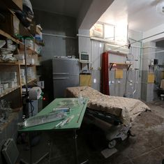 Syria: Largest hospital in rebel-held side of Aleppo hit with barrel, cluster bombs