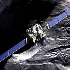 Emotion and tears in mission control as Rosetta came to a silent end