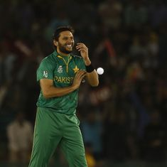 Shahid Afridi to lead ICC World XI against West Indies as injury rules out Eoin Morgan