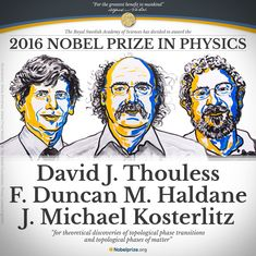 Nobel Prize in Physics awarded to three British scientists for studies in 'exotic matter'
