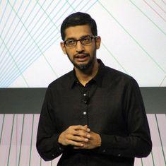 गूगल के सीईओ सुंदर पिचाई को पिछले साल हर महीने एक अरब रुपये से ज्यादा की सैलरी मिली थी!