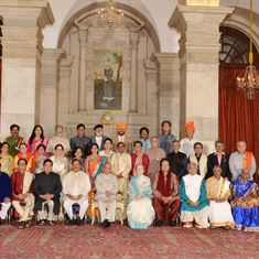 An evening at Rashtrapati Bhavan, celebrating the excellence of the Indian republic at its best