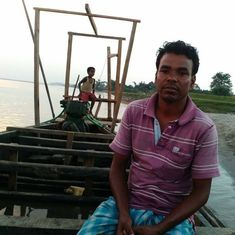 The battle between climate change and the boatman on the Brahmaputra