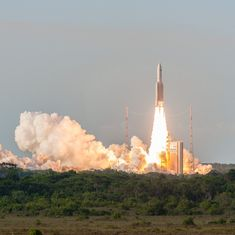 Isro's communication satellite GSAT-17 successfully launched into space from French Guiana