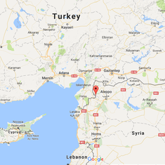 Explosion near Syria-Turkey border kills 29 rebels, Islamic State group claims responsibility