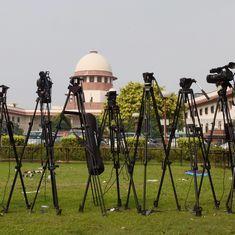 एनडीटीवी इंडिया पर बैन का मामला, सुप्रीम कोर्ट ने गेंद मोदी सरकार के पाले में डाली