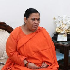 India very close to being categorised as a 'water scarce' nation: Uma Bharti