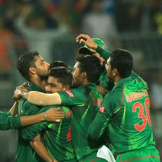 The score: Mashrafe Mortaza's all-round show helps Bangladesh level ODI series against England