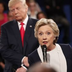 Watch: The second Clinton-Trump debate has instantly given birth to more comedy