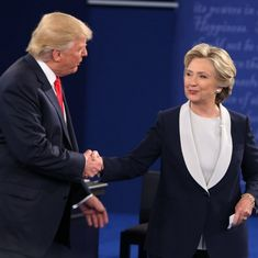 Watch: Hillary Clinton and Donald Trump roast each other at a charity event before the US elections