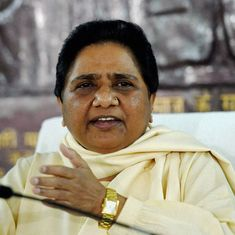 UP polls: Decision on an alliance between Congress and Samajwadi Party hinges on BJP, says Mayawati