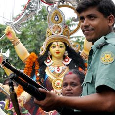 Bangladesh's Pujo paradox: Joyous celebrations under the shadow of the gun