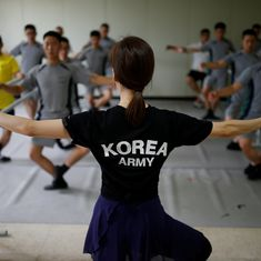 Watch: Why are these soldiers dancing the ballet instead of guarding the borders?