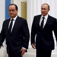 Vladimir Putin cancels visit to France after Francois Hollande says will only hold talks on Syria