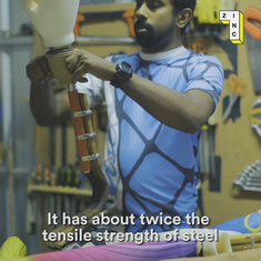 Video: This Bengaluru startup is making fully functional prosthetics using nothing but cane