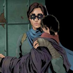 In this Pakistani comic book series, a woman takes on crime in Karachi