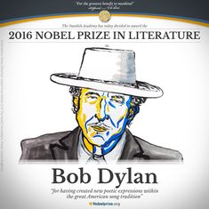 Bob Dylan wins Nobel Prize in Literature for 'creating new poetic expressions'