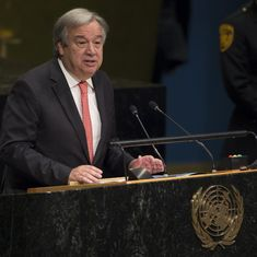 World leaders pledge support to UN Secretary General Antonio Guterres' campaign against sexual abuse