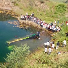 Madhya Pradesh: At least 17 die after bus falls into gorge in Ratlam