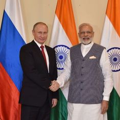 PM Modi will attend informal summit with Russian President Vladimir Putin in Sochi on May 21