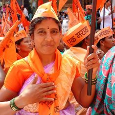 The rumbling sound of silence: 25 lakh gather for Maratha rally in Kolhapur