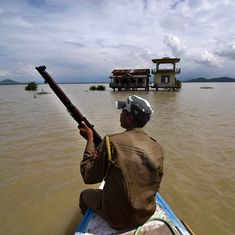 Massive flood on Bhutan-India border triggers blame game