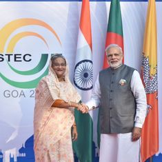 Bangladesh model is a template on how to fight terrorism, Narendra Modi tells Sheikh Hasina