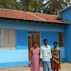 A message to India from a Lankan housing project: 'Please tell them we said, thank you'