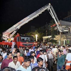 Bhubaneshwar hospital fire: Chairman of the SUM facility surrenders to police