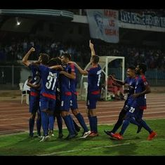 Watch all the goals and celebrations from Bengaluru FC's historic evening in the AFC Cup