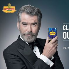 Shocked about Pan Bahar's unauthorised use of my image, says Pierce Brosnan