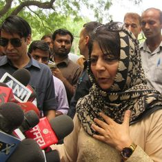 We have to create an environment of peace and tranquillity in Jammu and Kashmir: Mehbooba Mufti