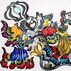 Indian folk art meets Picasso in an Assamese artist's latest work