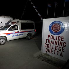 Pakistan: Islamic State claims attack on police training college in Quetta, which left 60 dead
