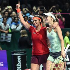 SanTina are back! Only this time, it's Sania Mirza who is the standalone name
