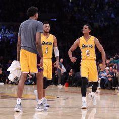 NBA Wrap: LA Lakers begin post-Kobe era with 120-114 win over Houston Rockets