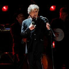 News about the Nobel Prize left me speechless, says Bob Dylan