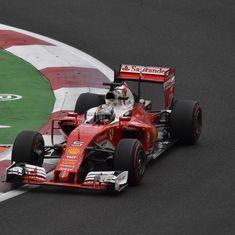 Mexican Grand Prix: Ferrari's Sebastian Vettel sets the pace in second practice
