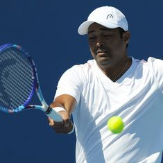 Tennis: Leander Paes, Andre Sa oust top-seeds Treat Huey and Max Mirnyi in Auckland