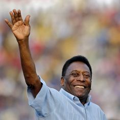 Readers' comments: 'It's fascinating how great players like Pele find opportunity in adversity'