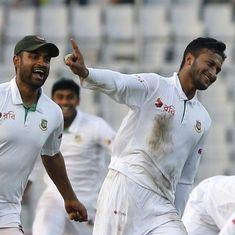टेस्ट क्रिकेट में पहली बार ऑस्ट्रेलिया को बांग्लादेश से शिकस्त मिलने सहित दिन के बड़े समाचार