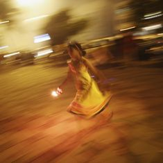 Smoke from firecracker snake = 464 Cigarettes (and other Diwali stories)