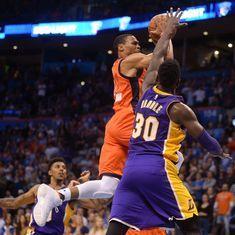 NBA: LA Lakers lose 113-96 to Oklahoma City Thunder