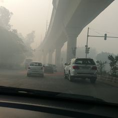 The day after: Twitter users share images of post-Diwali smog in Delhi