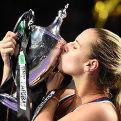 WTA finals: Debutant Dominika Cibulkova upsets World No. 1 Angelique Kerber to win title