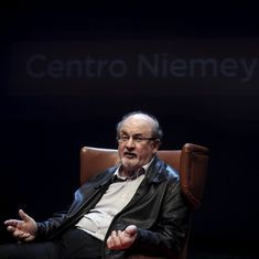 He is a sexual predator: Salman Rushdie criticises Donald Trump ahead of US elections