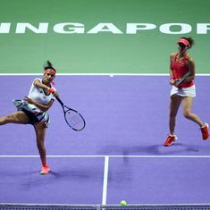 Santina's unsuccessful Singapore reunion provided a glimpse of why they broke up