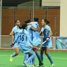 Hockey: India women beat Malaysia 2-0 to climb to the top of the Asian Champions Trophy table