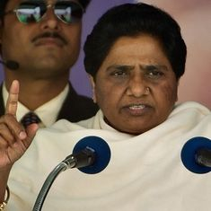 What does Mayawati hope to achieve with  her sudden resignation from the Rajya Sabha?