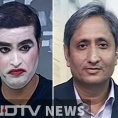 Is the Ravish Kumar video news? Theatre? Or art?